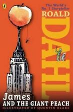 NEW   JAMES and the GIANT PEACH by ROALD DAHL paperback   (new cover) +6