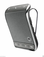 NEW Motorola Roadster 2 TZ710 Bluetooth Wireless Car Speakerphone FM Transmitter