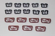 Chevelle 1968 to 1972 Windshield Reveal Molding Clips set  restoration correct