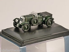 Soplador de Bentley le Mans 1930 1/76 Escala Modelo Oxford Diecast