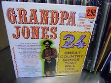 Grandpa Jones 24 Great Country Songs vinyl LP 1975 Gusto Sealed
