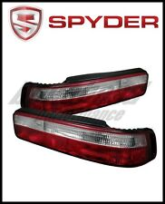 Spyder Acura Integra 90-93 2Dr Euro Style Tail Lights Red Clear