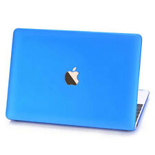 """Matte Rubberized Hard Case shell For 2015 Macbook 12"""" Pro 13 15""""Air 11 13""""inch"""