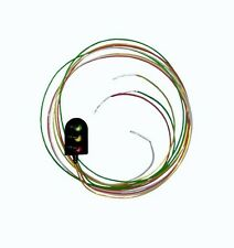 Berko BH04 OO Gauge 4mm Scale  Red/Yellow/Green Round Head Signal -T48 Post
