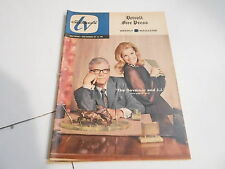 OCT 26 1969 TV CHANNELS television magazine  GOVERNOR AND JJ