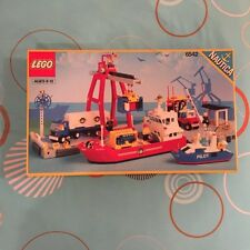 VINTAGE LEGO LAUNCH AND LOAD SEAPORT 6542 TOWN SET NEW MISB SEALED RARE MINT BOX