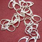 925 Stamped Silver Ear Hooks Earrings 925 Mark Lever Back Ear Jewellery DIY