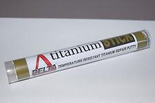 Titanio Masilla Alta Temperatura resistente al calor del múltiple del motor reparación enorme 125gm