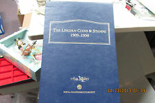 The Lincoln Coins & Stamps 1909-1958 Collection  PCS Binder  Great Set   L@@K!