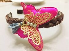US Seller Traditional Korean Hanbok Butterfly Headband Hair Accessory Handmade