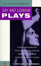 The Actor's Book of Gay and Lesbian Plays by Nina Shengold and Eric Lane...
