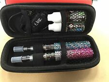 2x eGO-Crystal 900Mah Starter Kit With 2 Ce4 Tanks one USB Charger With Zip Case