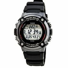Casio WS200H-1B Mens Black resin TOUGH SOLAR Sports Watch 100M LED Alarm