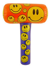 Inflatable Smiley Mallet 48cm Pinata Toy Loot Party Bag Hammer Wedding Kids Fun