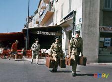 PHOTO  LE GENDARME DE SAINT-TROPEZ - LOUIS DE FUNES & CHRISTIAN MARIN  11x15 CM