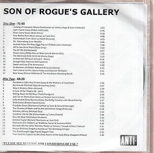 son of rogue's gallery limited edition 2x cd tom waits/keith richards zappa
