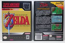The Legend of Zelda A Link To The Past - NO GAME - SNES Custom Case