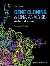 Gene Cloning and DNA Analysis by T. A. Brown (2016, Paperback)