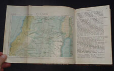 SINAI AND PALESTINE: In Their History / Egypt / Jerusalem / Tribes / Maps / 1856