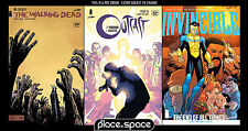(WK08) IMAGE 25TH ANNIVERSARY PACK, WALKING DEAD, OUTCAST & INVINCIBLE -01/02/17