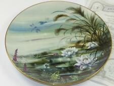 Collector Plate MORNING MOOD at POND Nature's Little Beauties LILIEN 90 Bradex