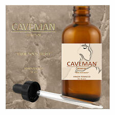HAND CRAFTED TOBACCO Beard Oil Conditioner 2 oz By CAVEMAN® Beard Care Shave
