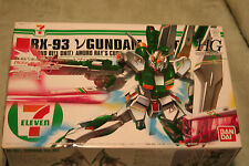 GUNDAM RX-93 GUNDAMVER.  SEVEN ELEVEN LTD EDITION 1/144 scale PLASTIC MODEL KIT