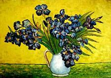 "Van Gogh reproductions Oil Painting - Irises 1890- size 36""x24"""