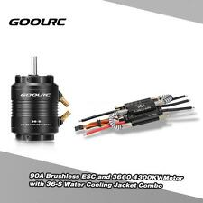 100% GoolRC 90A ESC /4300KV Motor /Water Cooling Jacket for 800mm RC Boat Y8K6