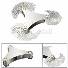 HOT 51xBlades Metric 60° Thread Gauge Gage Screw Pitch UNC 4-84 Measuring Tool