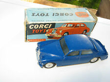 CORGI 205M RILEY PATHFINDER MECHANICAL ORIGINAL SUPERB CAR AND ORIGINAL BOX.