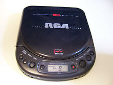 RCA RP-7925 PORTABLE CD PLAYER walkman discman CAR Skip protection w line out