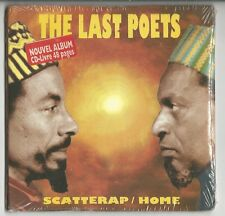 "THE LAST POETS ""Scatterap/Home"" Digipack CD 1994 NEU/NEW"
