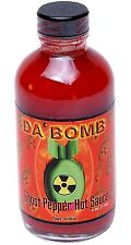 Da' Bomb Ghost Pepper Extremely Hot Chili Sauce Habanero Pepper Chilli 4oz Gift