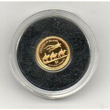 KIRIBATI 1 Dollar 2012 Christmas Island .999 Gold 0.5g Proof