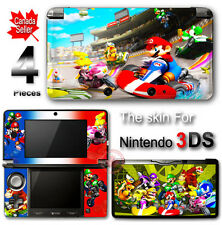 Super Mario Kart SKIN VINYL STICKER COVER #2 for 3DS