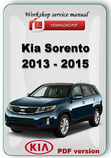 Kia Sorento 2013 - 2015 Factory Workshop Service Repair Manual