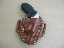 Taurus 85, 605, 805 Revolver Leather 2 Slot Pancake Belt Holster CCW TAN RH