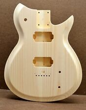 CUSTOM ORDER RB-G UNFINISHED WHITE PINE GUITAR BODY FITS STRATOCASTER NECK