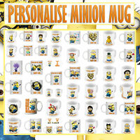 Personalised  MINION MUG - 48 DESIGNS TO CHOOSE FROM --