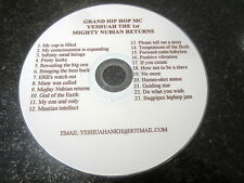 "YESHUAH ""MIGHTY NUBIAN RETURNS"" RARE PROMO CD (RAP, CONSCIOUS)"
