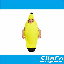 Child 4-6 Years Banana Fancy Dress Costume Funny Fruit Kids Boys Girls Unisex