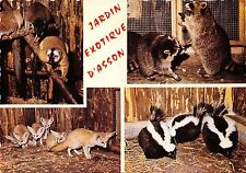 BR44061 Jardin Exotique D asson lemurens ratoms renards fox Skunks mouffettes an