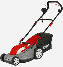 """New Cobra GTRM43 17"""" Electric Mulching Lawnmower with Rear Roller. Free Postage"""