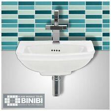 BRICK Rectangular Glass Mosaic Tiles Bathrooms Kitchens Wall Floors SALE! 4B-114