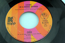 Cher: Living in a House Divided / One Honest Man  [Unplayed Copy]
