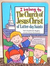 I BELONG TO THE CHURCH OF JESUS CHRIST by Val Bagley STORY BOARD LDS MORMON HB
