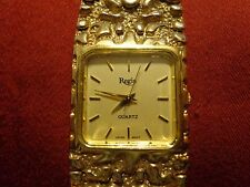 Regis Quartz Wristwatch Nugget Band Men's (USED)