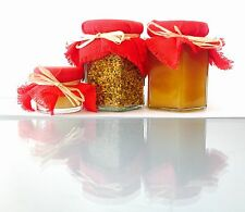 A Selection Of Organic Fresh Royal Jelly 30g, Bee Pollen 100g And Honey 250g