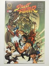 Street Fighter #8 Cover B Signed By Alvin Lee NO COA Udon Comics VF/NM